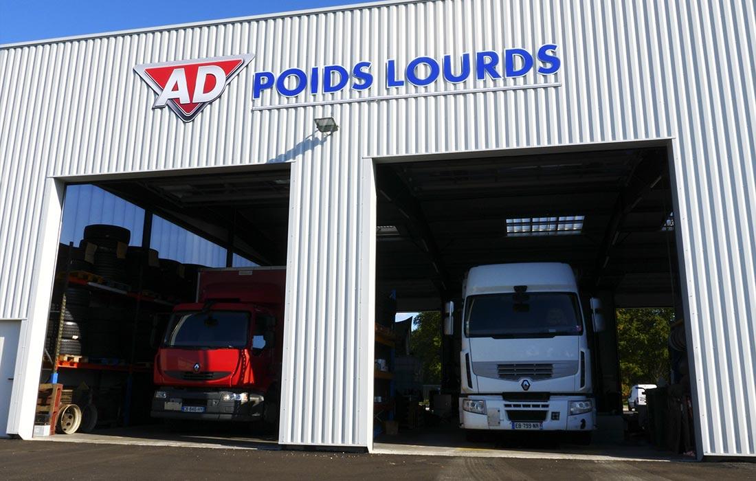 Réparation & Entretien <br> Poids-Lourds