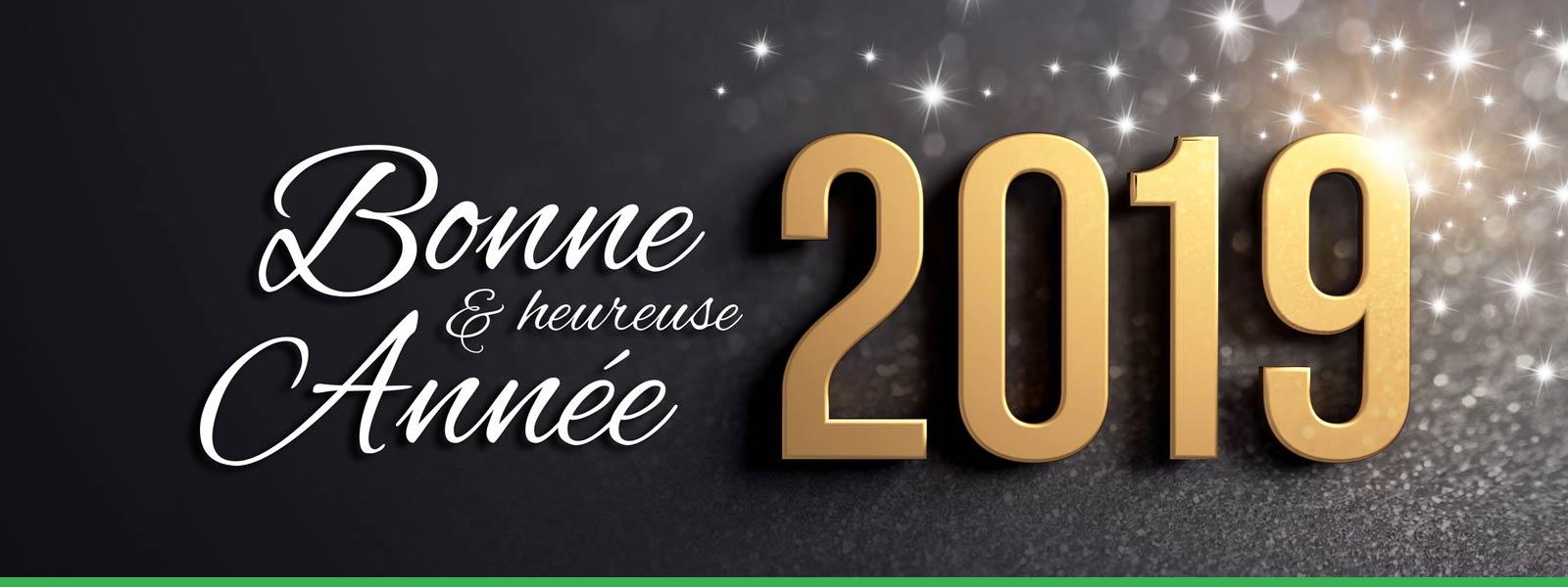 Le Garage Vial vous souhaite ses meilleurs voeux pour 2019