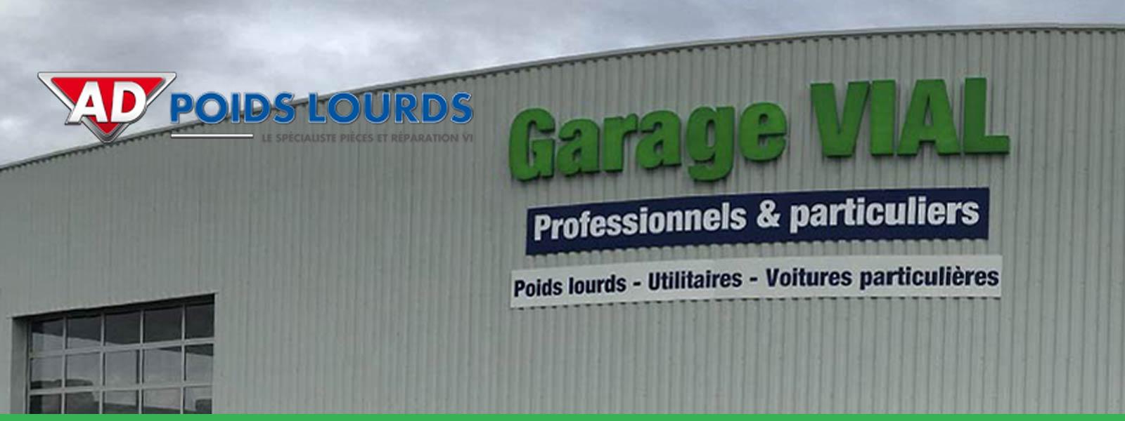 Garage Vial, l'atelier AD Poids Lourds à Loupiac de la Réole