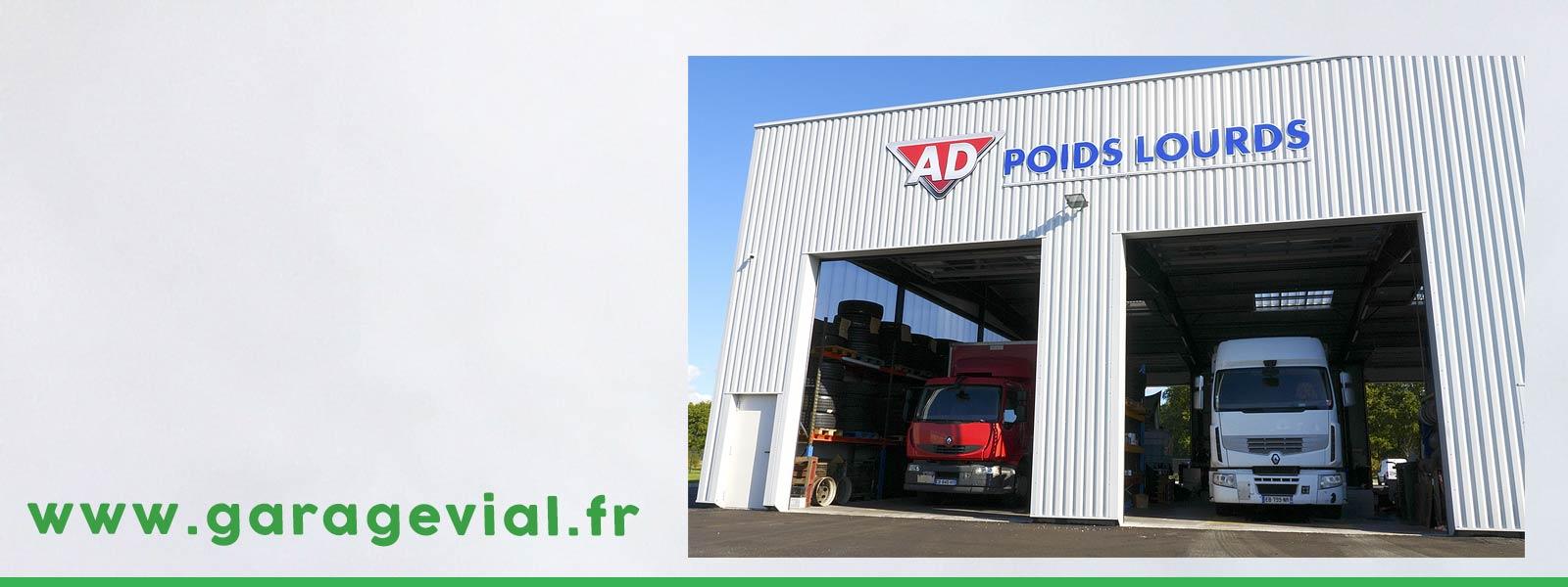 Réparation de véhicules poids-lourds en Gironde (33)