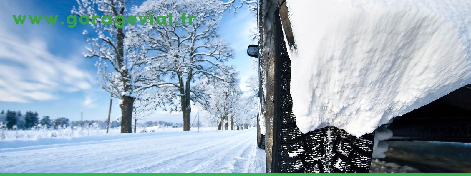 Entretien hivernal de votre véhicule utilitaire