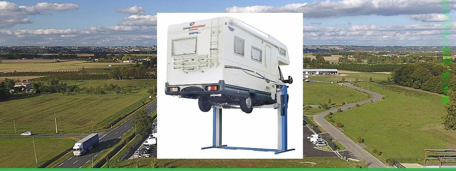 La solution entretien et réparation mécanique pour votre camping-car